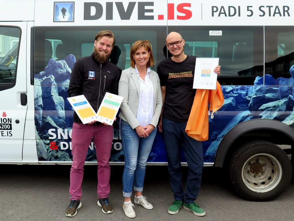 Dive.is receives the Vakinn certification